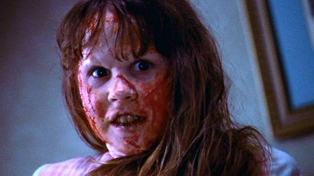 Linda Blair in The Exorcist