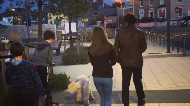 Ciara Kelly's children