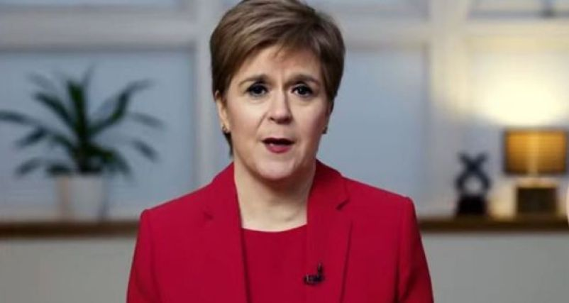 First Minister and Scottish National Party Leader Nicola Sturgeon: 'Boris Johnson and I are very different people.' Photo(Scottish National Party via Getty Images)