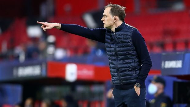 Chelsea manager Thomas Tuchel.  Photo credit: Fran Santiago / Getty Images