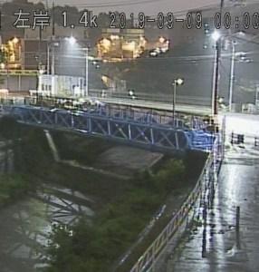横浜市河川カメラの例
