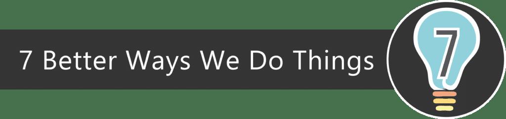 Explore Our 7 Simple but Smart Ideas