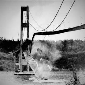 image of bridge collapsing