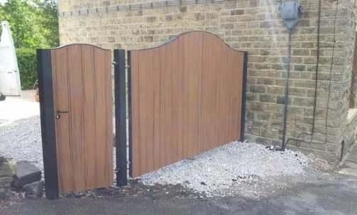 industrial garden gates