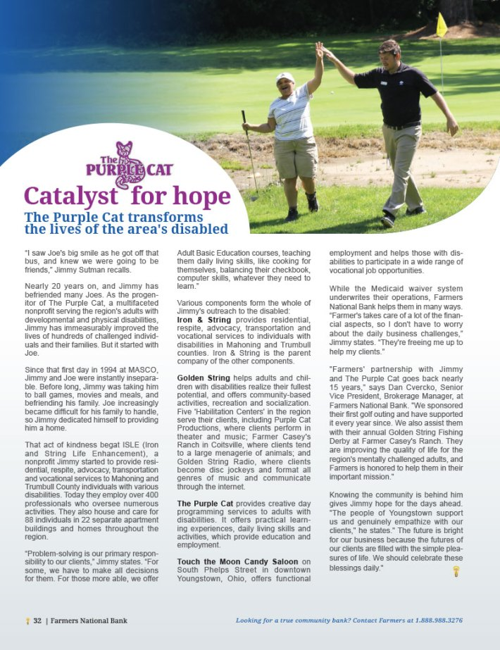 The Purple Cat: Catalyst for Hope
