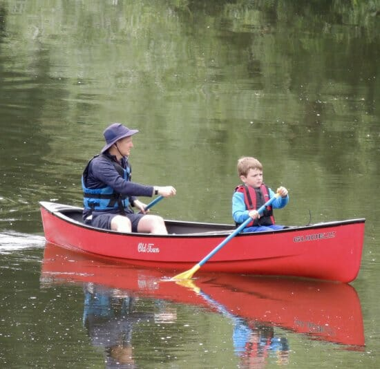 Hire a canoe with Shropshire Raft Tours