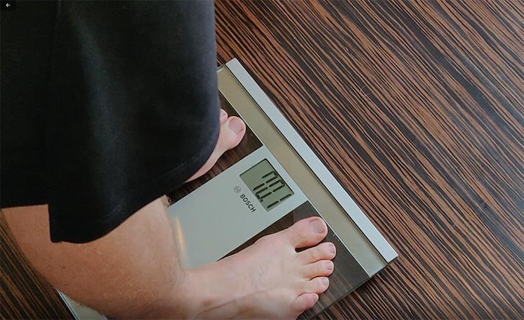 body weight scale how to measure fat loss progress