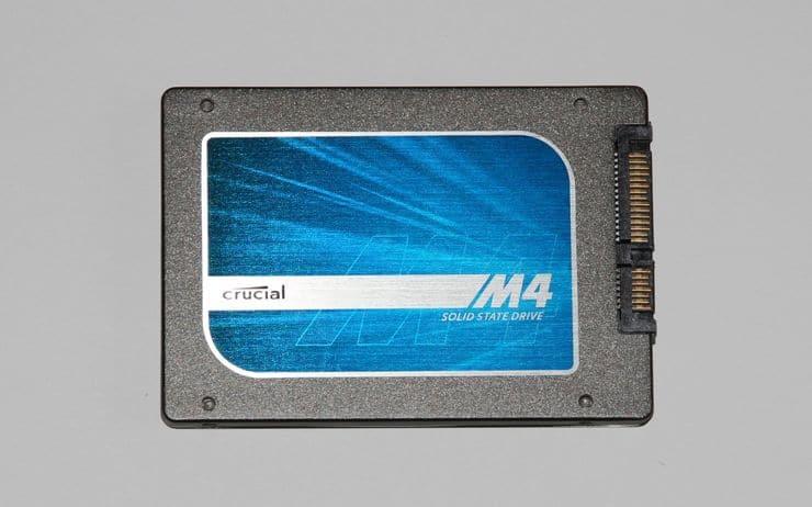 test disque dur Crucial SSD M4