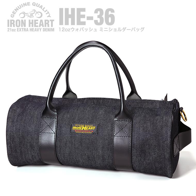 【 IHE-35 】  21ozセルビッチデニム ダッフルバッグ