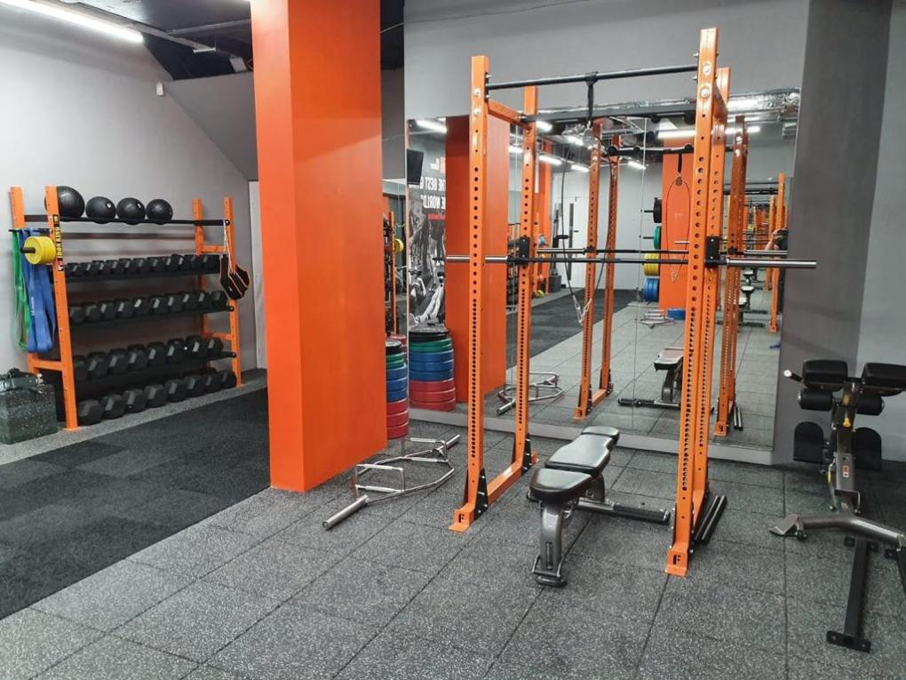 Unique, Custom Branded Lifting Rack