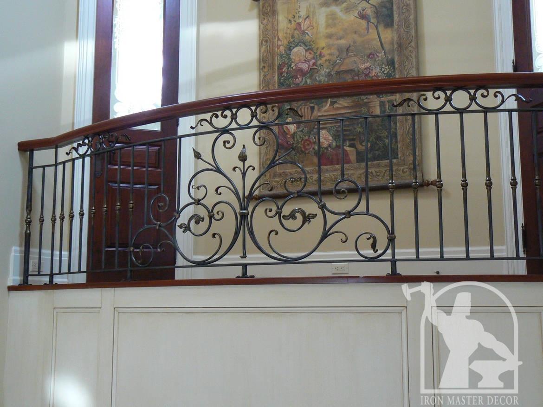 Wrought Iron Interior Railings Photo Gallery Iron Master