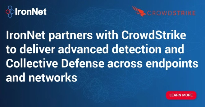 Better detection from endpoint to network: IronNet partners with CrowdStrike