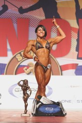 Women Physique Overall Winner-Claudia de Leon Pardo