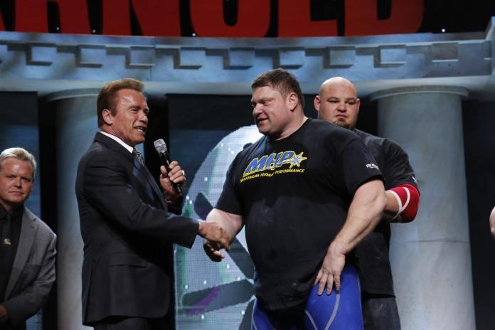 Arnold Strongman Classic winner