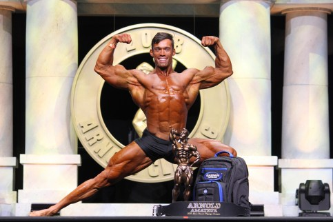 Lucas Disanti #406 Classic Physique Overall Winner