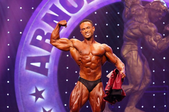 Alex Cambronero Earns First Career Win In Arnold Classic Physique