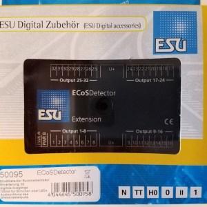ESU 50095 ECoSDetector Extension ~ 32 Channels Feedback Occupancy (LED, Bulbs)