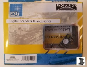ESU 54499 LokSound V4.0 DCC Sound Decoder 21 Pin With Speaker ~ Factory Sound