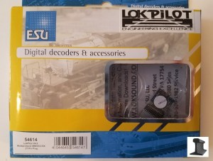 ESU 54614 LokPilot V4.0 Multiprotocol Decoder (MM/DCC/SX) With 21 Pin