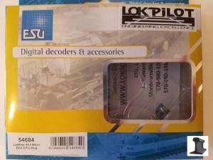ESU 54684 LokPilot Micro V4.0 DCC Decoder 6 Pin NEM651 With Harness