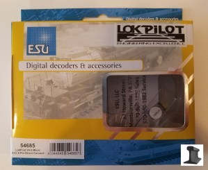 ESU 54685 LokPilot Micro V4.0 DCC Decoder 6 Pin NEM651 With Direct Connection