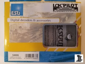 ESU 54686 LokPilot Micro V4.0 DCC Decoder With Next 18 Interface
