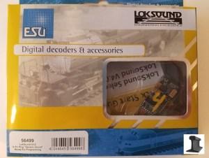 ESU 56499 LokSound V4.0 DCC Sound Decoder 6-Pin With Speaker ~ Factory Sound