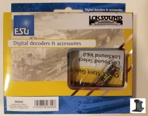 ESU 56899 LokSound Micro V4.0 8 Pin With Harness & Speaker ~ Factory Sound