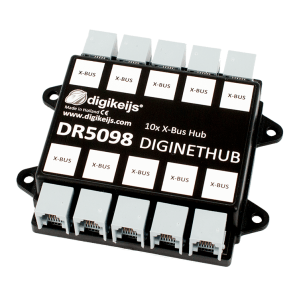 Digikeijs DR5098 DigiNetHub 10 Way NCE Cab Bus ~ X-Bus, ExpressNet Splitter Hub ~ Lenz, CVP