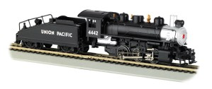 Bachmann HO Union Pacific UP #4442 USRA 0-6-0 With Smoke