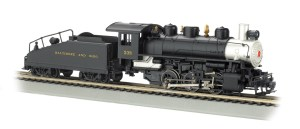 Bachmann HO Baltimore & Ohio USRA #338 0-6-0 With Smoke
