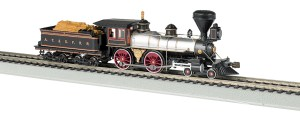 Bachmann HO Santa Fe #91 American 4-4-0 DCC Sound Value