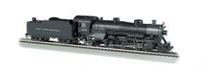 Bachmann HO New York Central NYC #4552 4-6-2 Light Pacific W/Sound 52802