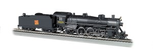Bachmann HO Grand Tuck Western #562 4-6-2 Light Pacific W/Sound 52804