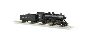 Bachmann HO New York Central 1137 Baldwin 2-8-0 DC/DCC Sound 57903