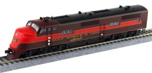 Broadway Limited HO GM&O EMC EA A-Unit Diesel #100A P3 Sound/DC/DCC 5505