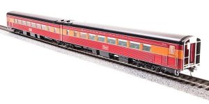 Broadway Limited 1588 HO SP Daylight Articulated Chair Passenger Cars #2466