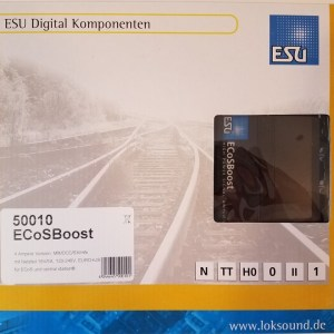 ESU 50010 ECoSBoost ext. Booster 4 Amp MM/DCC/SX/M4 With Power Supply