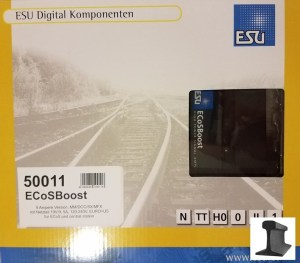 ESU 50011 ECoSBoost ext. Booster 8 Amp MM/DCC/SX/M4 With Power Supply