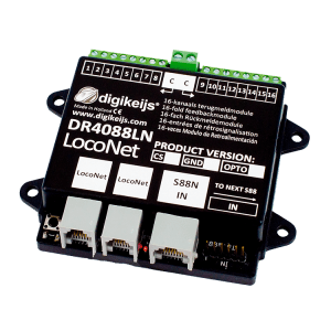 Digikeijs DR4088LN-OPTO 16 Channel Occupancy Feedback Module