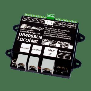 Digikeijs DR4088LN-OPTO 16 Channel Occupancy Feedback Module