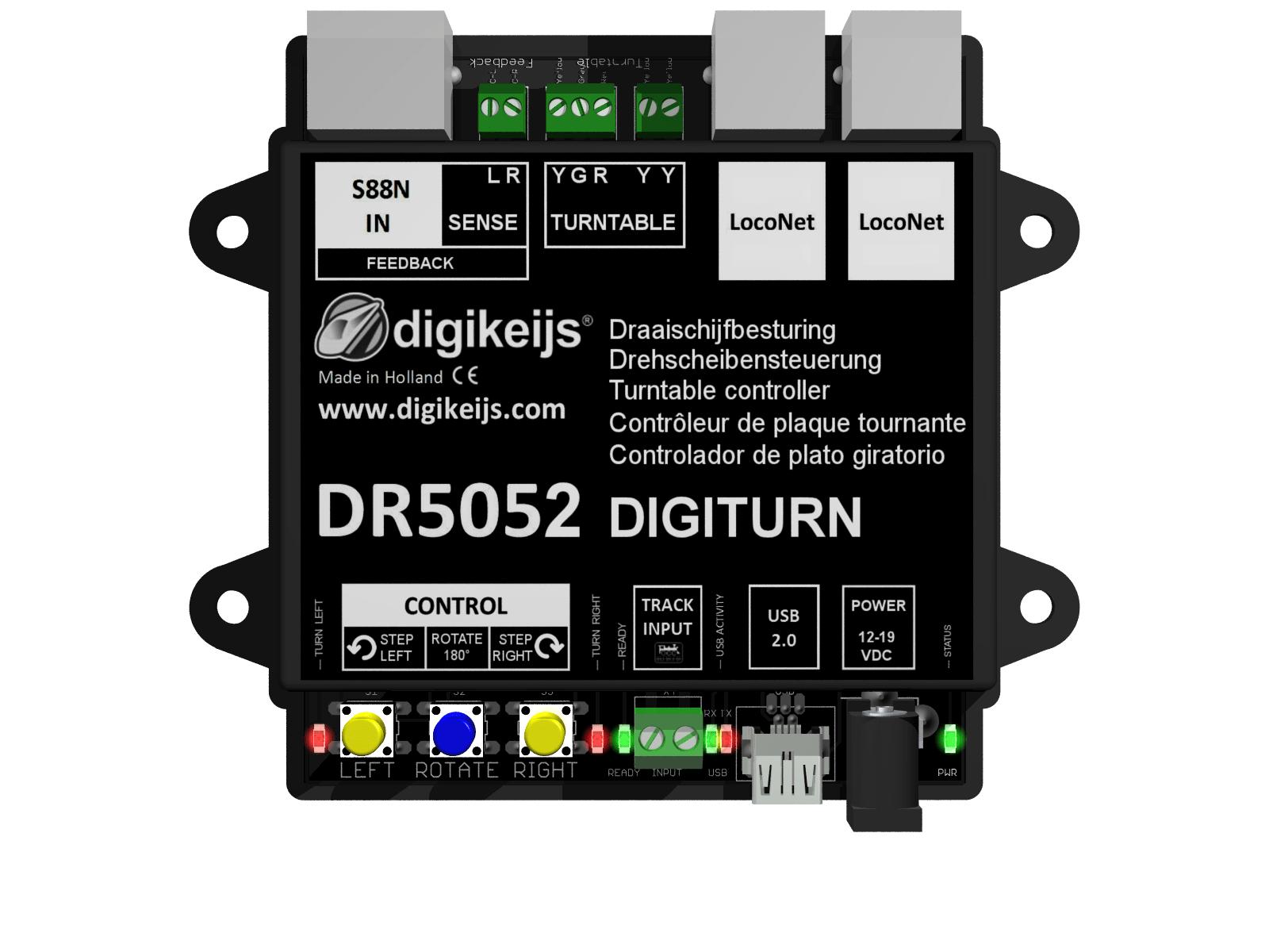 Works with DIGITRAX ROCO Digikeijs DR5039 ETC LocoNet to CDE ...
