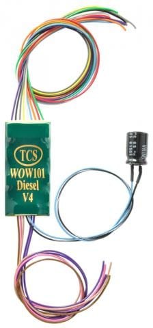 TCS WOWSound WOW101 Diesel 1530 ~ 9 Pin Decoder