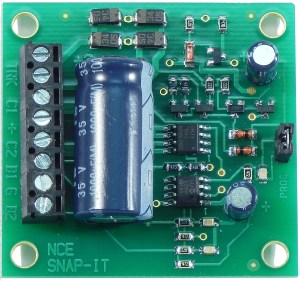 NCE DCC Snap-It Decoder For Twin Coil Switch Machines ~ 05240115