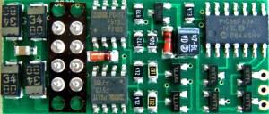 NCE P2K-SR HO DCC Decoder LifeLike Proto 2000 GP7/9/30 SD60 ~ 8 Pin