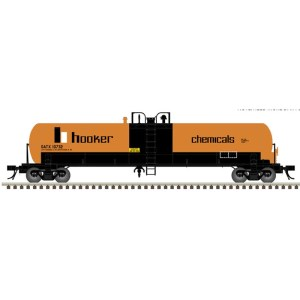 Atlas HO Hooker Chemical 20,700 GAL Tank Car #17037