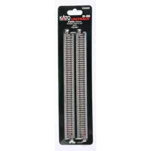 Kato N UniTrack 248mm 9 3/4″ Straight Track S248 (4 pcs) 20-000