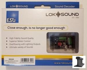 ESU 58325 LokSound V5.0 L DCC ~ Blank Decoder ~ Pinheader With Adapter