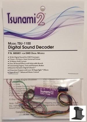 Soundtraxx Tsunami 2 ~ TSU-1100 EMD Diesel Sound Decoder ~ 885001