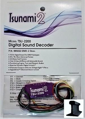 Soundtraxx Tsunami 2 ~ TSU-2200 (EMD-2) Diesel Sound Decoder ~ 885022